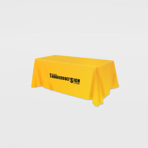 Tension Fabric Table Cloth