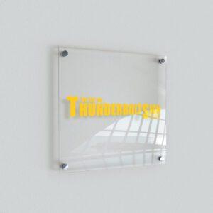 Indoor Sign