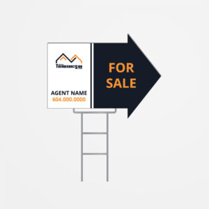 Arrow Shape Sign