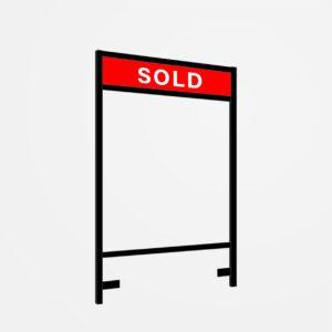 Lawn Sign Metal Frame