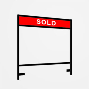 Lawn Sign Metal Frame