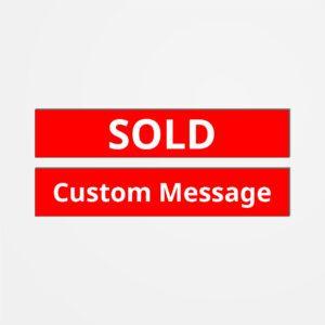 Sign Topper -Custom